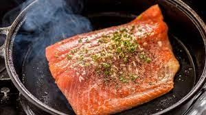 kuliner ikan salmon